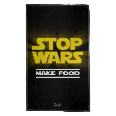 Pano de Prato Stop Wars Make Food - Star Wars