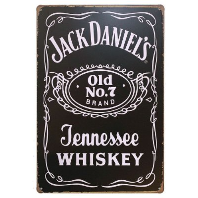 Placa de Metal Jack Daniel's - Whiskey