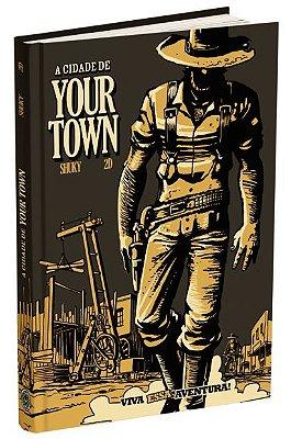 Livro-jogo A Cidade de Your Town - HQ-Jogo