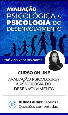 Curso Online - Avaliação Psicológica & Psicologia do Desenvolvimento