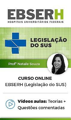 Curso Online - EBSERH (Legislação do SUS)