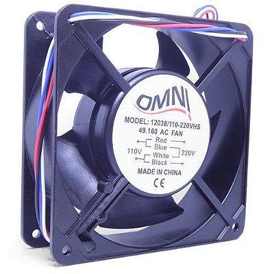 Ventoinha Cooler Micro Ventilador 120 X 120 X 38mm 110V 220V