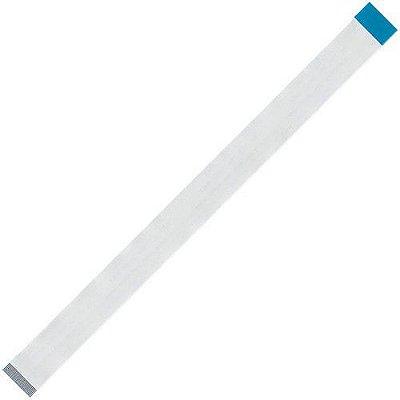 Flat Cable 30 Vias X 200mm X 0.5mm Passo Poliéster Invertido
