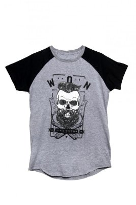 Camiseta Won Raglan Barber