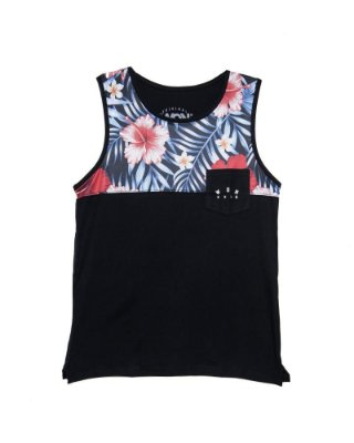 Camiseta Regata Floral |USE WON