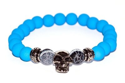Pulseira Blue Skull | USE WON