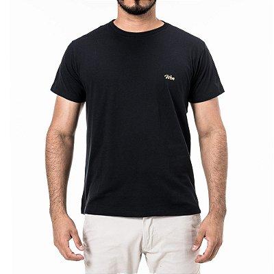 Camiseta Preta Won Mini Logo