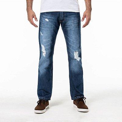 Calça Won Jeans Médio Straight
