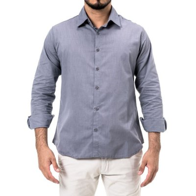 Camisa Won Regular Chambray