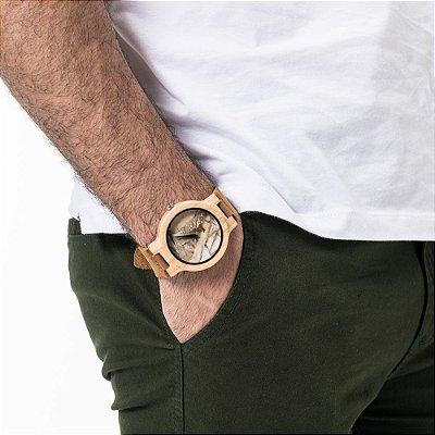 Relógio Won Mármore