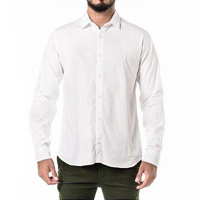 Camisa Won Social Mini Logo Branca
