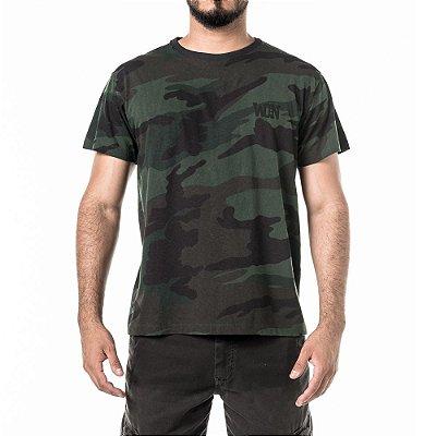 Camiseta Won Camo Desgastado