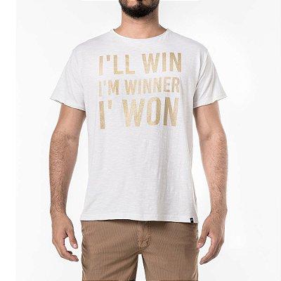 Camiseta Won I'll Win