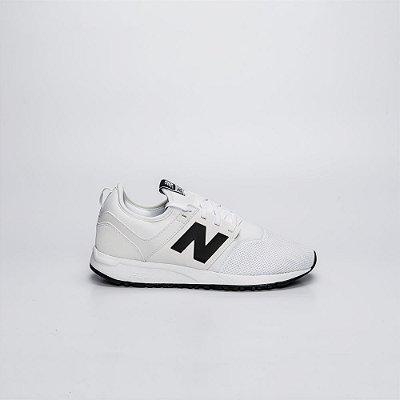Tênis NB 247 Mesh Branco com Preto