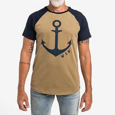 Camiseta Raglan WON Âncora