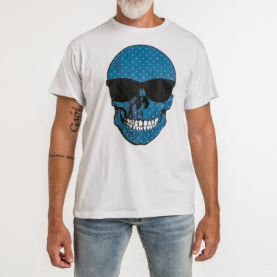 Camiseta WON Caveira Poá