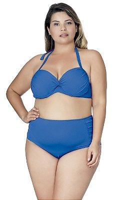 Calcinha Plus Size de Compressão Azul Royal Agridoce