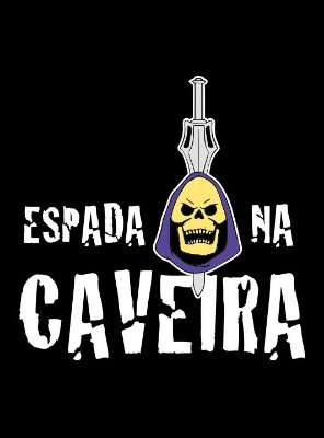 CAMISETA ESPADA NA CAVEIRA