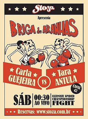 CAMISETA BRIGA DE ARANHAS