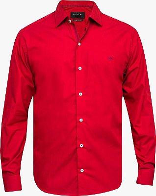 Camisa Ogochi Essencial Tradicional - Vermelha