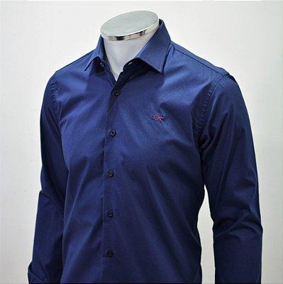 Camisa Ogochi  Essencial Slim Fit - Marinho