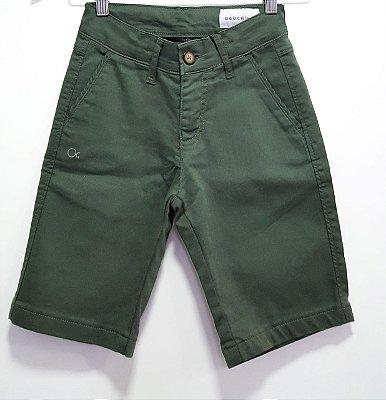 Bermuda Infantil Ogochi Essencial - Verde Folha