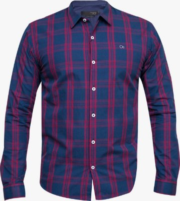 Camisa Ogochi Essencial Slim Fit - Xadrez