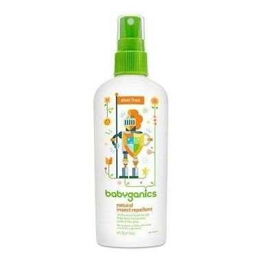 Babyganics Natural DEET-Free Insect Repellent