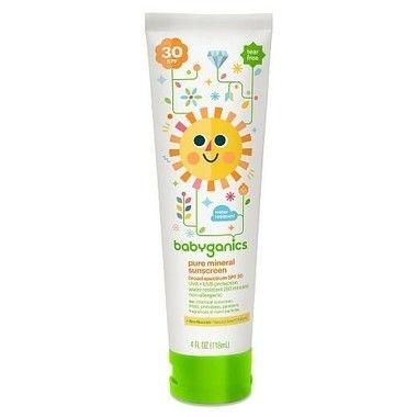 Babyganics Pure Mineral-Based Baby Sunscreen Lotion SPF 30