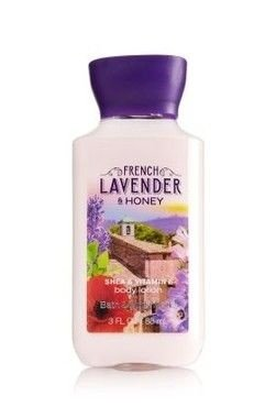 French Lavender & Honey Body Lotion Travel Size