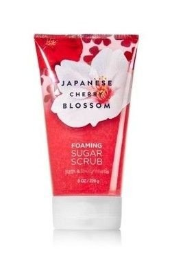 Japanese Cherry Blossom Foaming Sugar Scrub