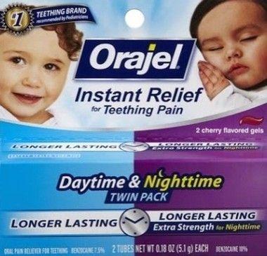 Orajel Theething Daytime & Nighttime