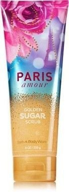 Paris Amour Gold Sugar Scrub