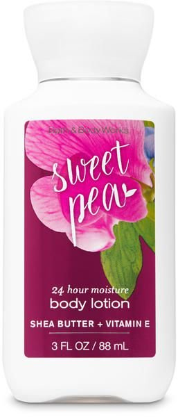 Sweet Pea Body Lotion Travel Size