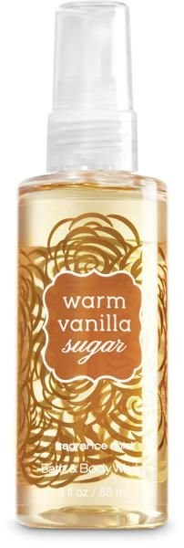 Warm Vanilla Sugar Fine Fragrance Mist Travel Size