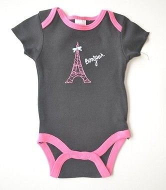 Body Preto com Rosa Paris