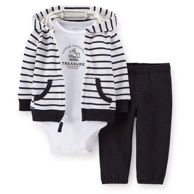 Conjunto body, calça e casaco com zíper