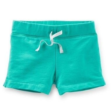 French Terry Shorts Verde