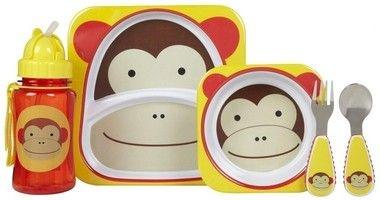 Utensílios Skip Hop Zoo Macaco
