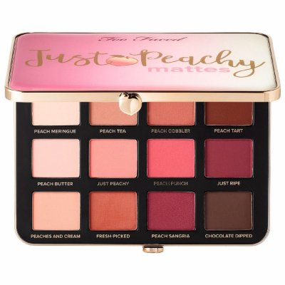 Too Faced-just Peachy Velvet Matte Eyeshadow Palette