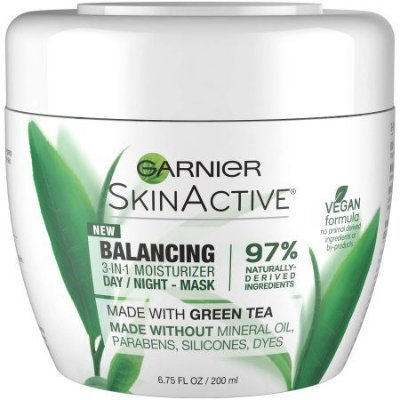 Garnier SkinActive Balancing 3-in-1 Moisturizer Day/Night Mask, 200ml