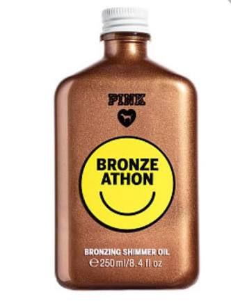 PINK Bronze AThon Bronzing Shimmer Oil