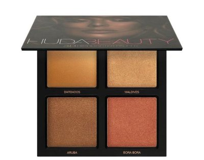 HUDA BEAUTY 3D Highlighter Palette Bronze