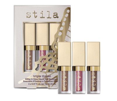 Stila Triple Threat Glitter & Glow Set
