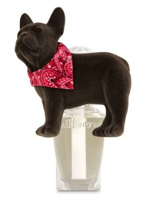 Images Bulldog With Scarf Wallflowers Fragrance Plug