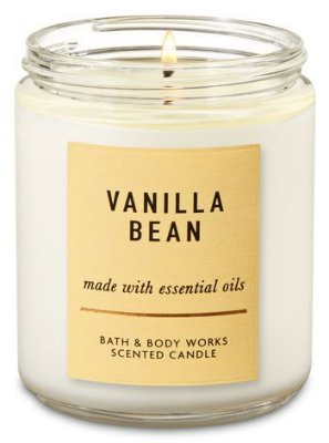 Vanilla Bean Single Wick Candle