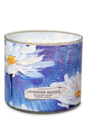 Lavender Woods 3-Wick Candle
