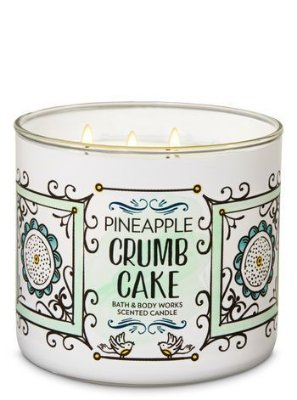 Pineapple Crumb Cake 3-Wick Candle