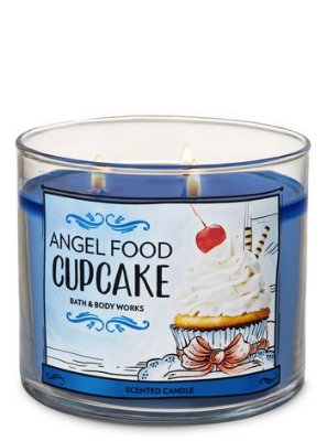 Angel Food Cupcake 3-Wick Candle