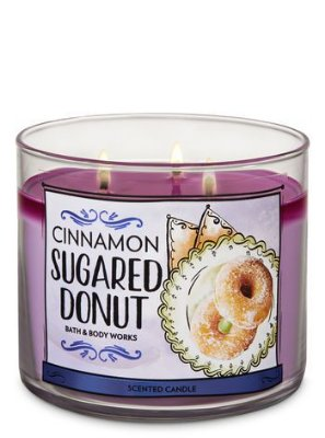 Cinnamon Sugared Donut 3-Wick Candle